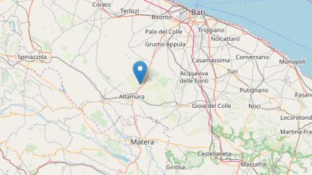 Altra scossa di terremoto in Puglia: epicentro ad Altamura