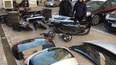 Ladro di carrozzeria fermato a Barletta, scattano i domiciliari