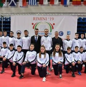Taekwondo, 18 atleti della Bat in gara agli Europei di Rimini
