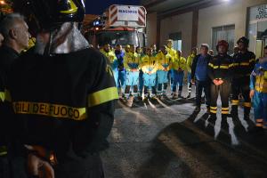 Misericordie dai Vigili del fuoco al comando provinviciale della BAT (11)