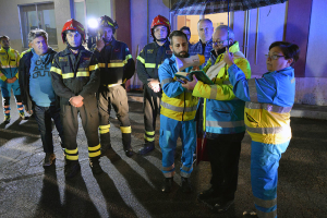 Misericordie dai Vigili del fuoco al comando provinviciale della BAT (14)