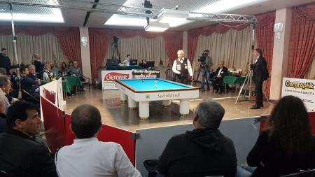 A Barletta i campionati italiani assoluti di carambola a tre sponde