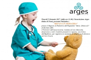 locandina evento ARGES Befana in Pediatria