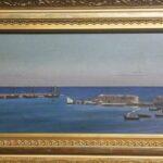 G.Gabbiani_Il porto primitivo di Barletta_1857 Museo Civico