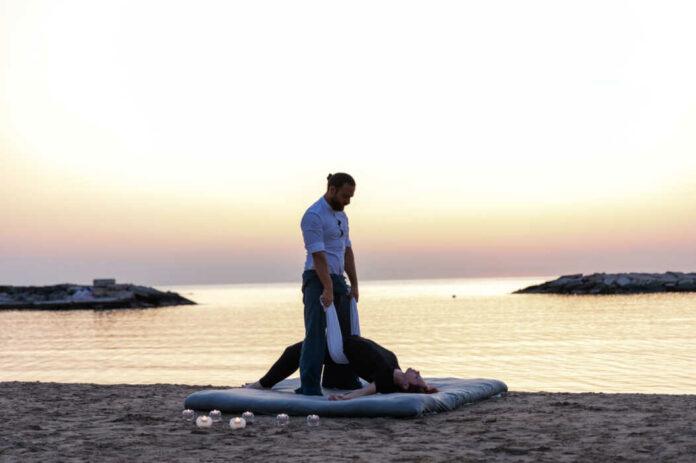 Davide Brunetti, campione del mondo di massaggi